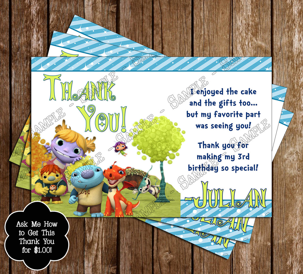 Novel Concept Designs Wallykazam Birthday Party Ticket Invitation – Ticket Invitation Maker