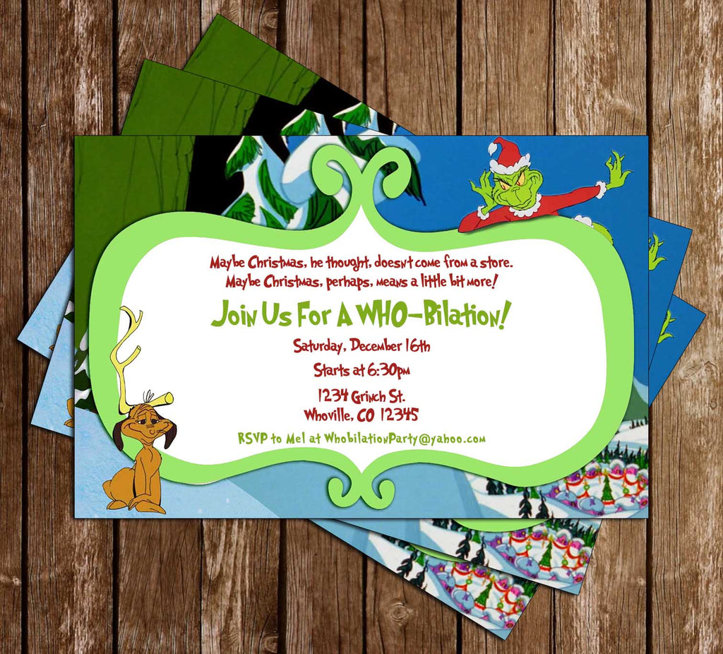Novel Concept Designs - Whooville - Dr. Seuss - Christmas Holiday ...