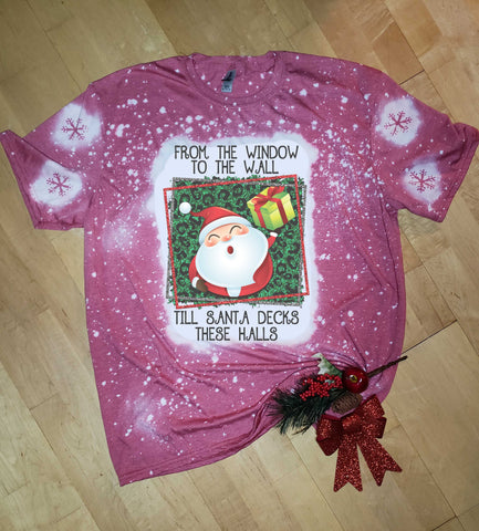 Santa Deck These Halls - Holiday - T-Shirt
