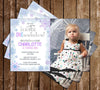 Winter One-derland - Photo - 1st Birthday - Invitation