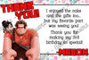 Wreck It Ralph Thank You Card