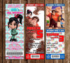 Wreck It Ralph Birthday Ticket Invitation