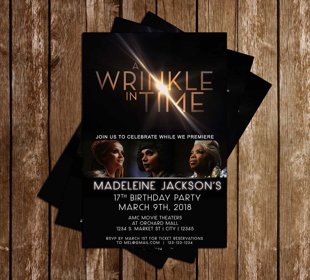 Novel Concept Designs A Wrinkle In Time Movie Birthday