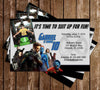X Men Birthday Invitation with Photo