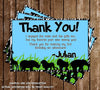 Zoo - Safari Birthday Party Printable Thank You Card