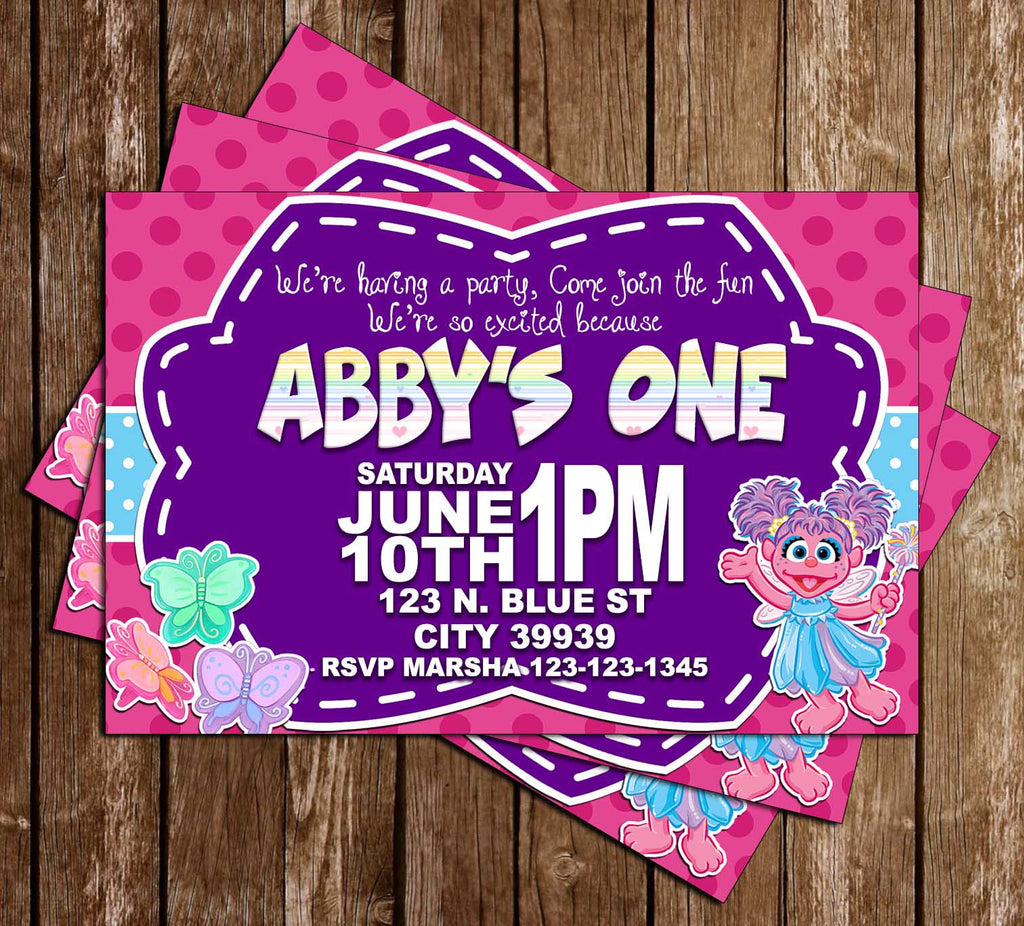 Novel Concept Designs Sesame Street Abby Cadabby Birthday
