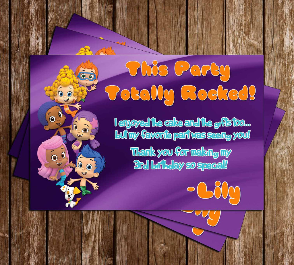 Novel concept designs bubble guppies nick jr pink girls bubble guppies nick jr pink girls birthday invitation filmwisefo