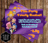 Nick Jr Bubble Guppies Thank You Card (Purple)