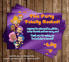 Bubble Guppies Thank You Card (Purple)
