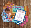 Doc McStuffins Birthday Invitation (Clipboard)