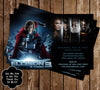 Thor Movie Birthday Invitation w/Photo