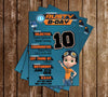 Rusty Rivets - Nick Jr - Birthday Party - Invitations