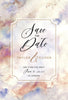 Soft Dreamy Sky Watercolor - Wedding Invitation Set