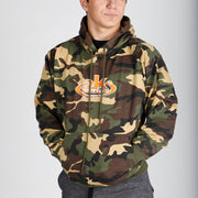 "Camo ""Character through Karate"" Hoodie"