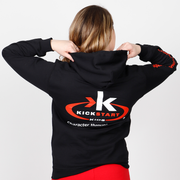 Character through Karate Pullover Hoodie