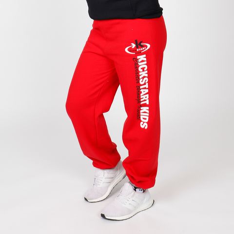 KSK Red Workout Sweatpants