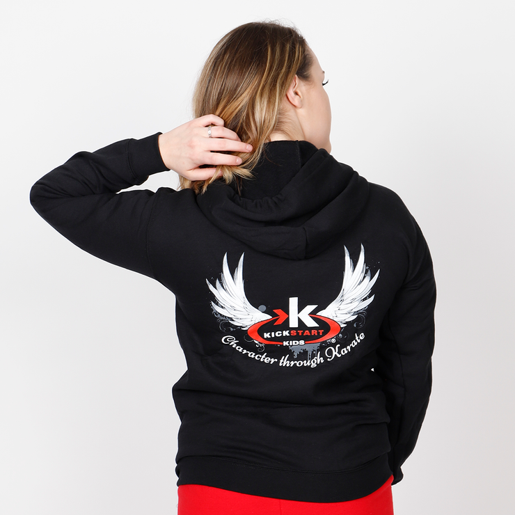Wings Zip-Up Hoodie