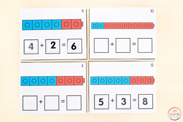 Addition to 10 Math Pack | 5 Activities