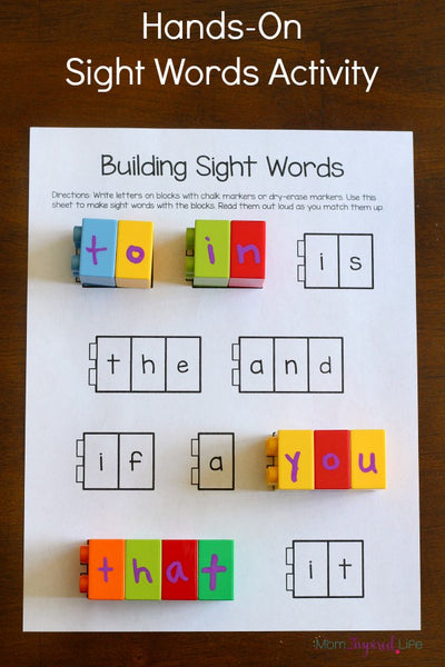 Building Sight Words – Fry's First 100