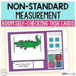 Non-Standard Measurement Boom Cards™ | Digital Task Cards