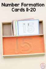 Numbers 11-20 Math Pack for Kindergarten Math Centers