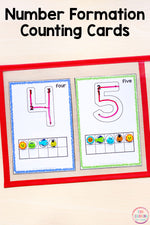 Numbers 0-10 Math Pack for Kindergarten Math Centers