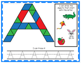 Alphabet and Numbers Pattern Block Mats Bundle