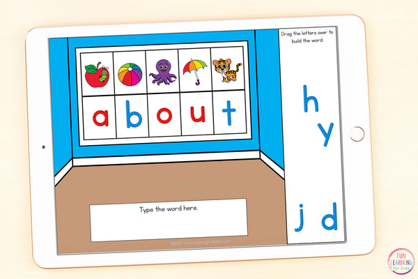 Sight Word Games | 5 Activities - Third Grade | Google Slides and Seesaw