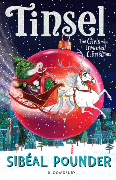 Tinsel, the girl who discovered Christmas children's book