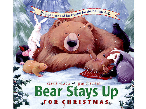 Bear Stays Up for Christmas kids book