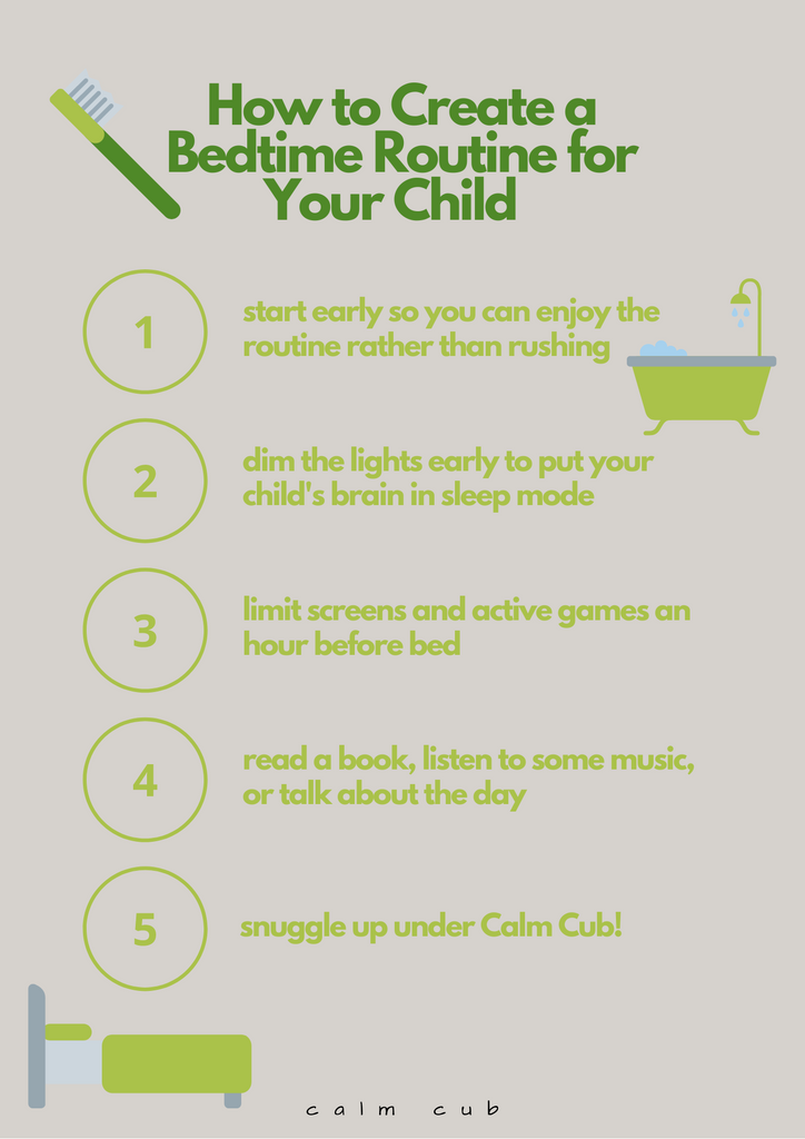 perfect kids bedtime routine