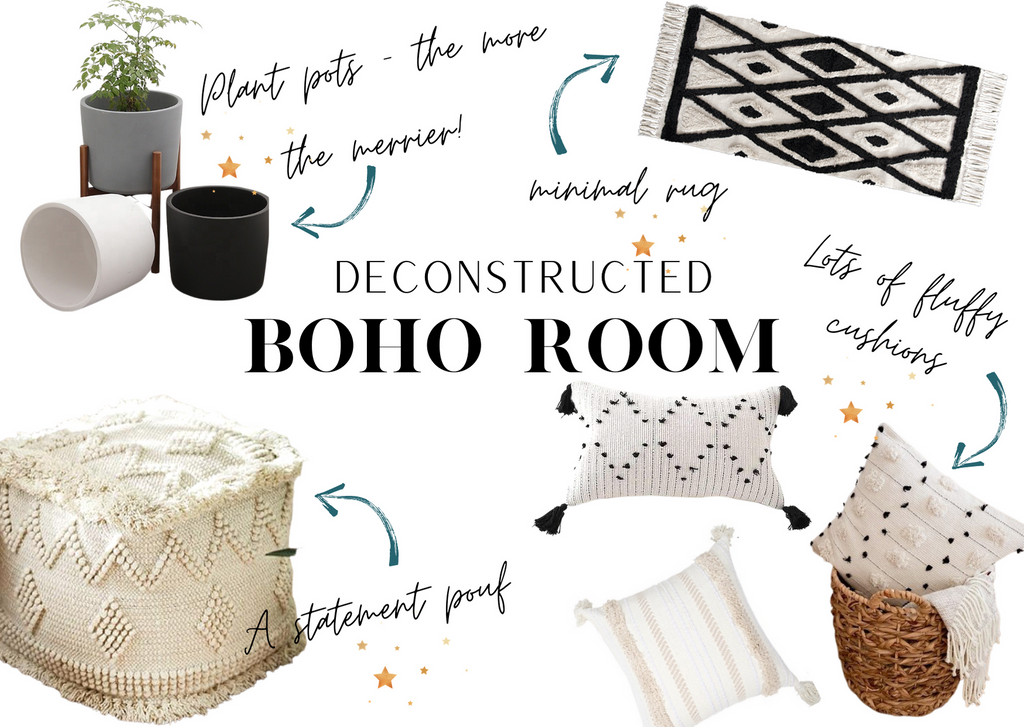 Deconstructed Boho Room - Essentials for a Dreamy Bedroom