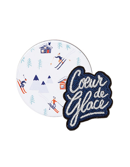 Broche Coeur de Glace - My Little Box