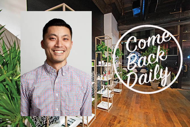 Steven Phan of Come Back Daily