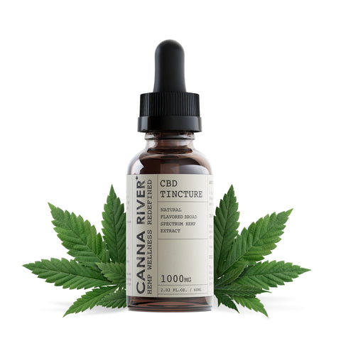 Broad Spectrum Natural CBD Tincture - The MARY Marketplace