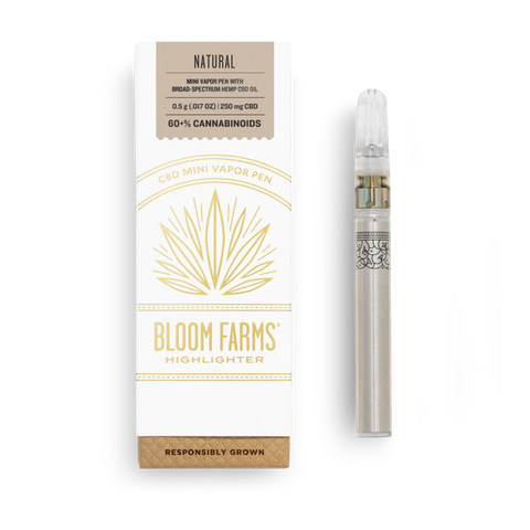 Natural CBD Mini Vapor Pen - 0.5 G - The MARY Marketplace