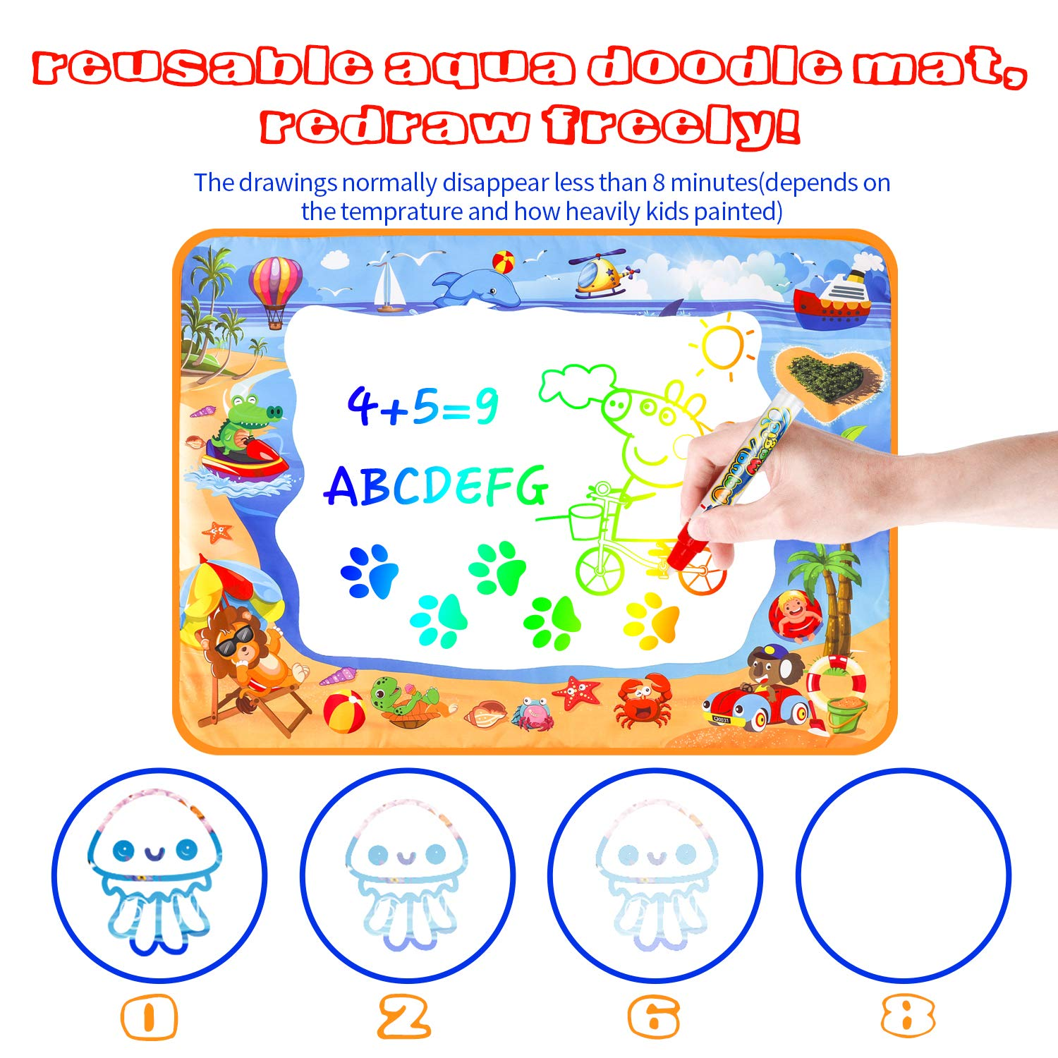 Aquadoodle Drawing Mat For Kids Toys Suggest