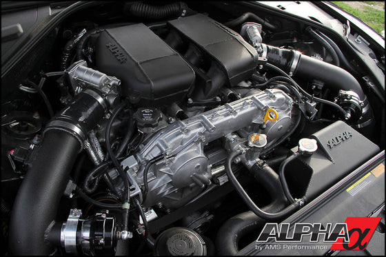 AMS Performance GT-R R35 Induction Kit w/Stock Turbos/TB / Alpha I/C/Carbon Manifold/TiAL Flanges