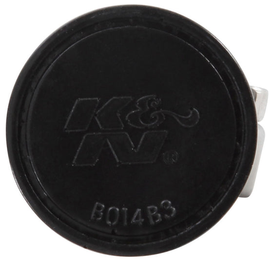 K&N 0.75 inch ID 1.375 inch OD 1.125 inch H Clamp On Crankcase Vent Filter