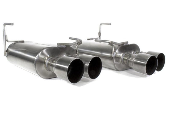 Perrin 11+ Subaru STi/WRX Sedan Brushed Dual Tube Cat-Back Exhaust w/ Quad Straight Cut Tips