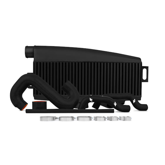 Mishimoto Subaru 02-07 WRX/04-07 STi Top-Mount Intercooler Kit - Powder Coated Black & Black Hoses