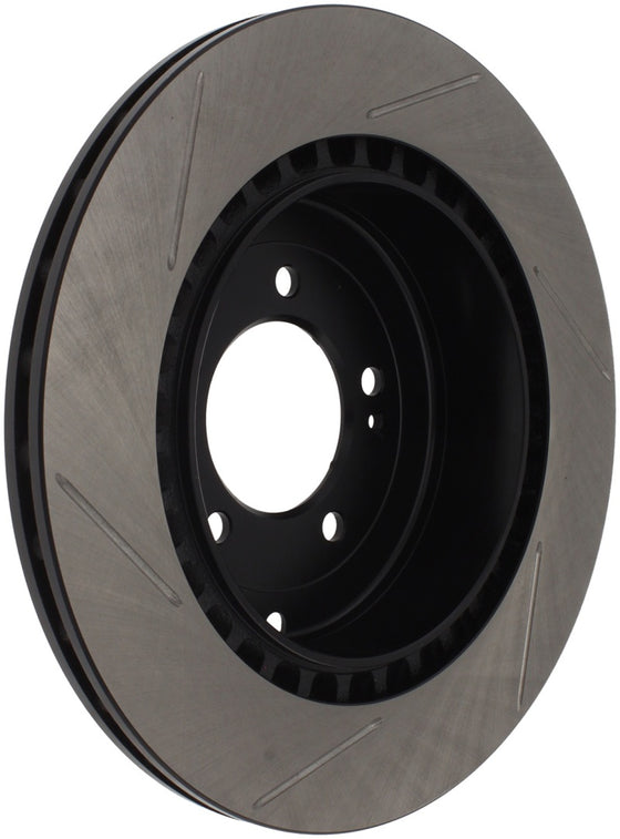 StopTech Power Slot 08-09 Evo 10 Slotted Left Rear Rotor