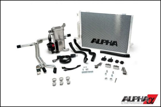AMS Performance Audi S4 B8.5 Alpha Boost Cooling System