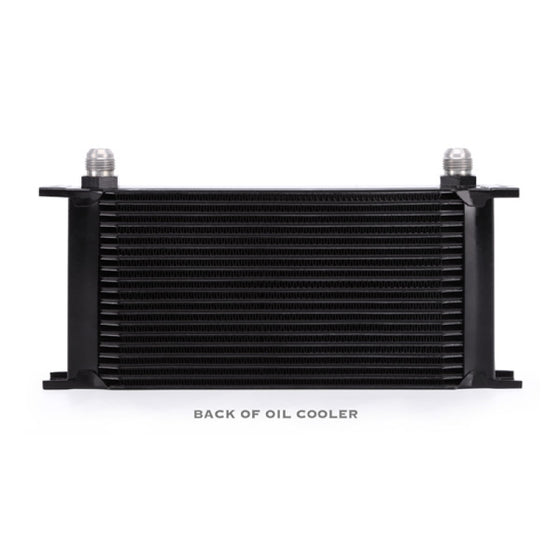 Mishimoto Universal 19 Row Oil Cooler - Black