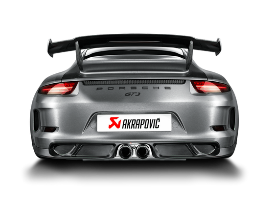 Akrapovic 14-17 Porsche 911 GT3 (991) Evolution Race Line w/ Cat/Header (Titanium) (Req. Tips)