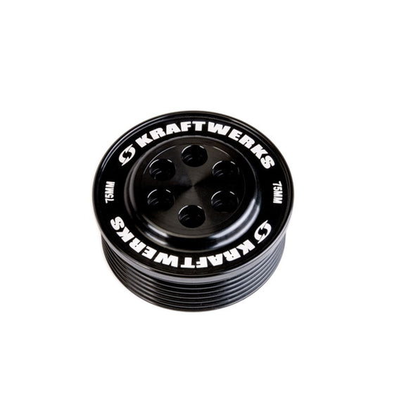 KraftWerks Supercharger Pulley - 75mm 7 Rib