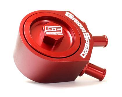 GrimmSpeed Air/Oil Separator 02-07 WRX and ALL STI RED