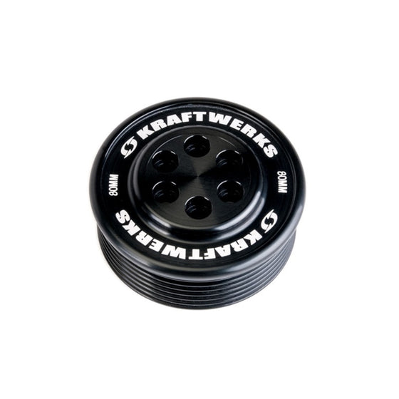 KraftWerks Supercharger Pulley - 80mm 7 Rib