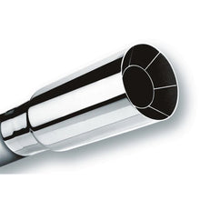 Borla Universal Polished Tip Single Round Intercooled (inlet 2 1/4in. Outlet 2 1/2in)  *NO Returns*