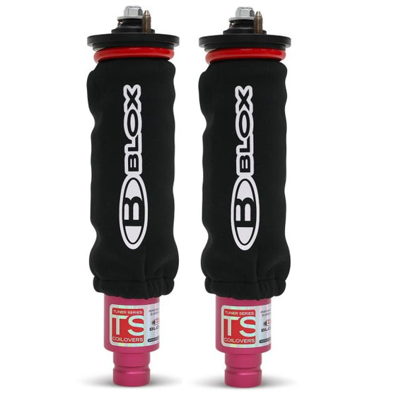 BLOX Racing Coilover Covers - Black (Pair)
